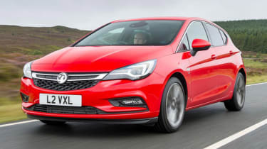 Vauxhall Astra - best low emissions green cars