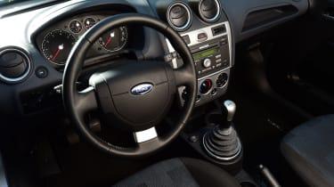 Ford Fiesta Mk5 - interior