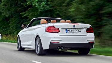 BMW 220d Convertible - rear
