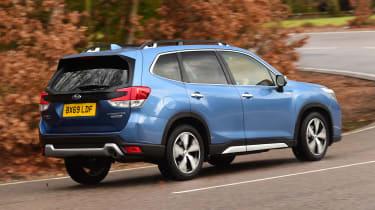 Subaru Forester e-Boxer - rear action