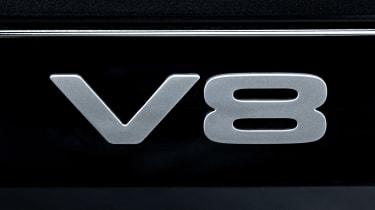 Land Rover Defender V8 - V8 badge