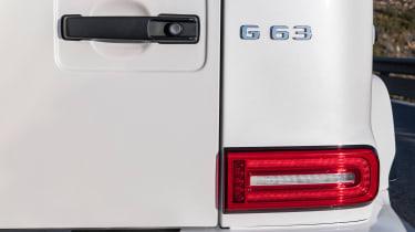 New Mercedes-AMG G 63 - tail light