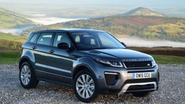 Range Rover Evoque front quarter