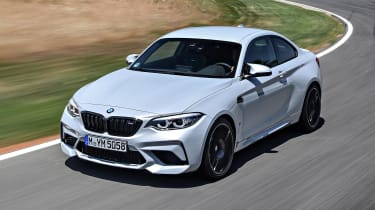 BMW M2 Competition - front above
