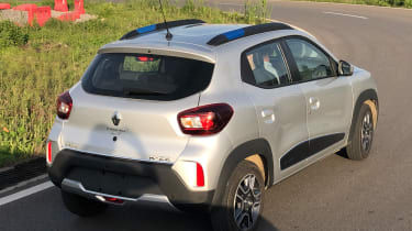 Renault K-ZE - rear cornering