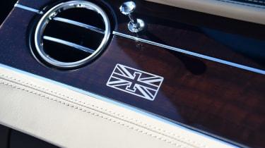 Bentley Continental GT Convertible - interior detail