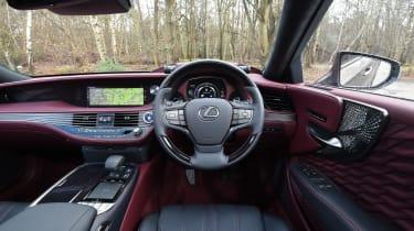 Lexus LS - interior
