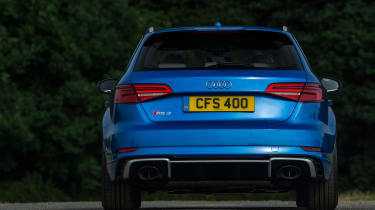 Audi RS 3 - full rear