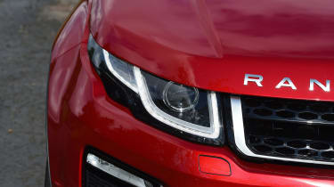 Range Rover Evoque SE Tech 2016 - headlights