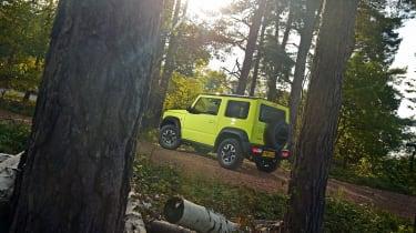 Suzuki Jimny - rear forest