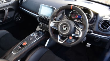 Alpine A110 S - dash