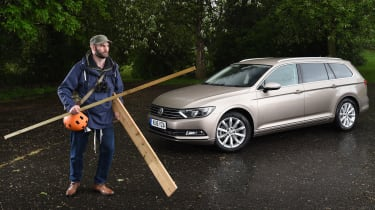 Long-term test review Volkswagen Passat Estate - first report header