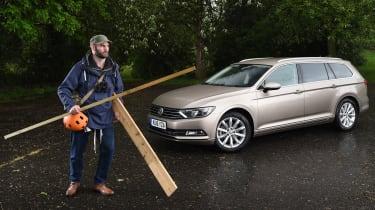 Long-term test review Volkswagen Passat Estate - first report header