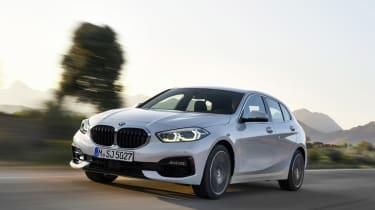 New BMW 1 Series 2019 driving
