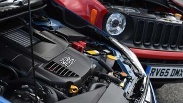 Subaru XV vs Jeep Renegade - engines