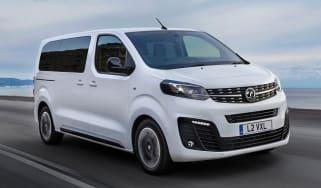 Vauxhall Vivaro Life - front