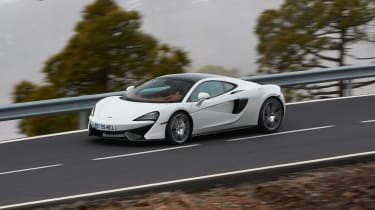 McLaren 570GT - side