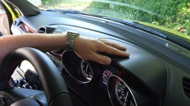 Suzuki Swift Sport long-term test - dashboard