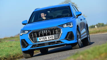 Audi Q3 - front cornering