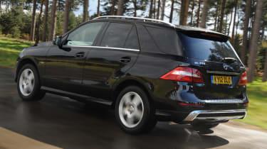 Mercedes ML 350 CDI rear tracking