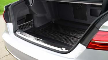 Audi A8 saloon 2014 boot