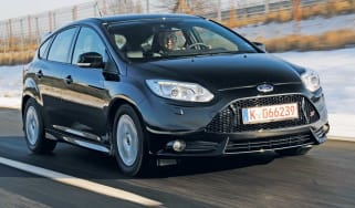 Ford Focus ST front tracking