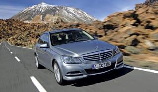 Mercedes C-Class front
