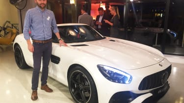 Best cars of the 2016 Paris Motor Show - Johnny, Mercedes-AMG GT Roadster