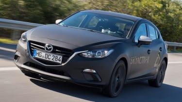 Mazda 3 Skyactiv-X prototype - front
