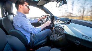 Fiat 500 Mild Hybrid - driving