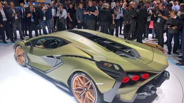 Lamborghini Sian - Frankfurt rear