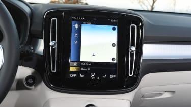 Volvo XC40 SUV - infotainment