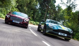 Aston Martin DB11 AMR vs Bentley Continental GT - header