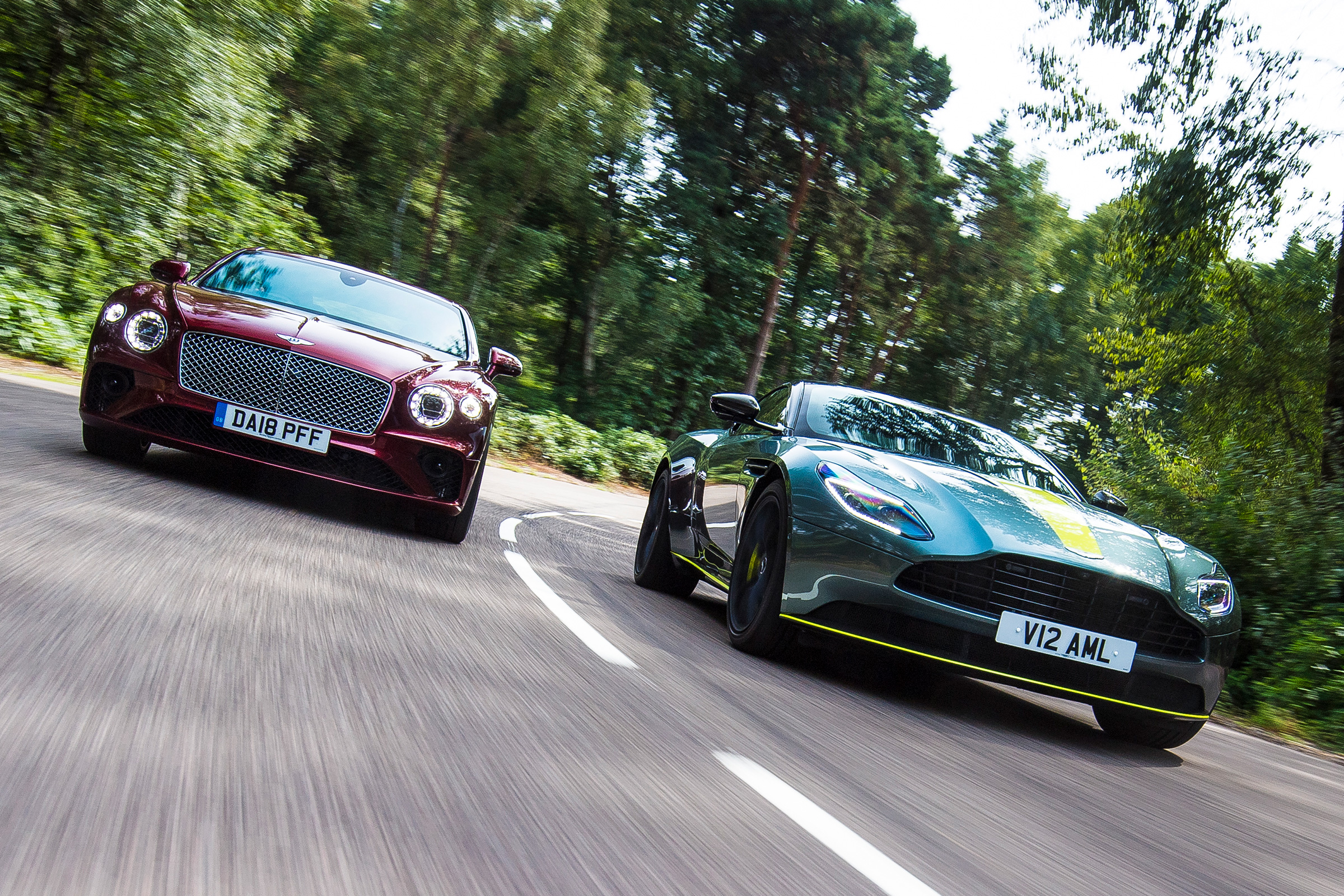 Aston Martin Db11 Amr Vs Bentley Continental Gt Auto Express