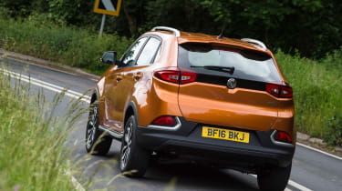 MG GS SUV 2016 - rear cornering