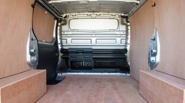 Renault Traffic Sport cargo area