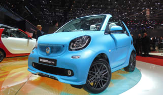 Smart Fortwo Brabus Geneva - front below