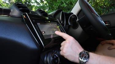 Suzuki Swift Sport long-term test - infotainment