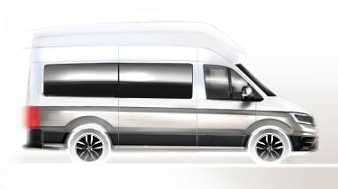 VW California XXL sketch