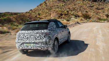 Volkswagen T-Roc prototype - rear action