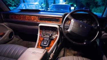 Jaguar XJ40 XJ6 Sovereign interior