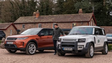 Land Rover Discovery Sport final report - header