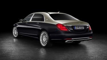 Mercedes-Maybach S-Class rear