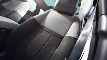 Range Rover Evoque - seat detail