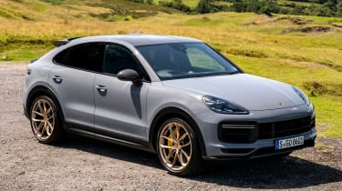 Porsche Cayenne Coupe Turbo GT - front static