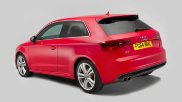 Used Audi A3 mk3 2012 - rear