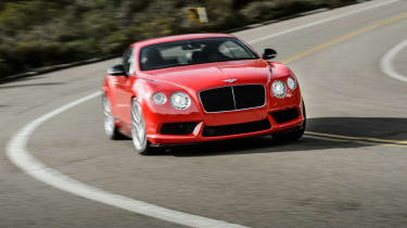 Bentley Continental GT V8 S coupe 2014 action