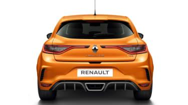 Renault Megane RS - studio full rear static