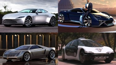 Movie concept cars