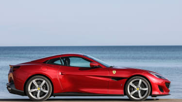 Ferrari Portofino - roof closed